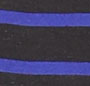 Black/Blue Stripe