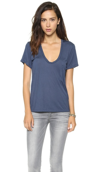 LNA Deep Pocket Crew Tee