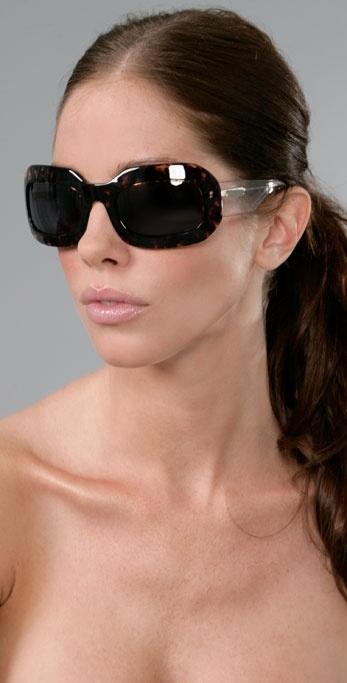 Lanvin Paris Wide Eyes Sunglasses