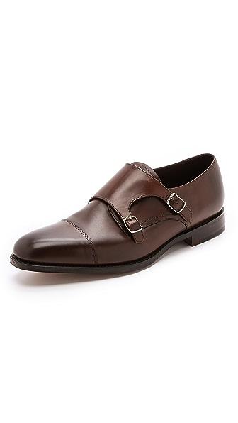 Loake 1880 Cannon Monk Strap Shoes