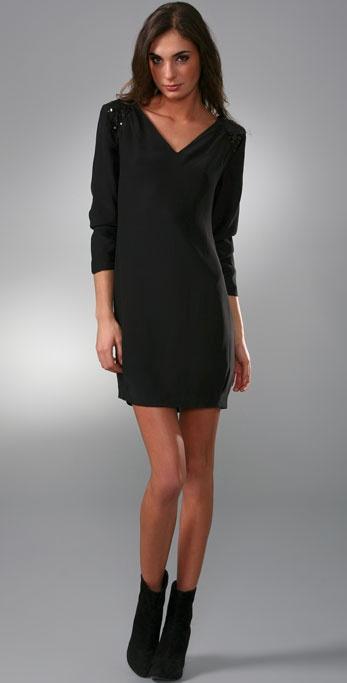 Loeffler Randall Shoulder Trim Dress