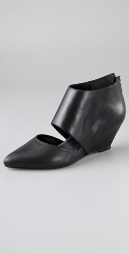 Loeffler Randall Annie Cutout Wedge Booties