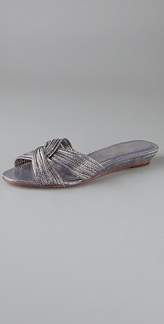Loeffler Randall Billie Mignon Twist Slide Sandals