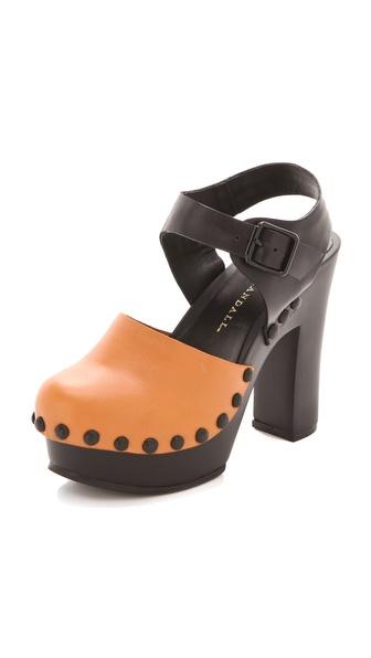 Loeffler Randall Claudelie Platform Clog Sandals
