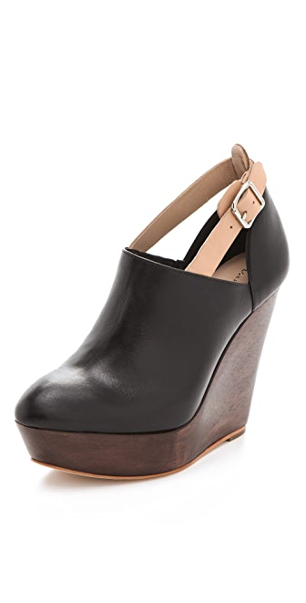 Loeffler Randall Lily Wedge Booties