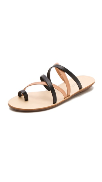 Loeffler Randall Sarie Two Tone Sandals