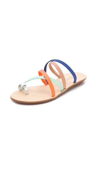 Loeffler Randall Sarie Multicolor Sandals