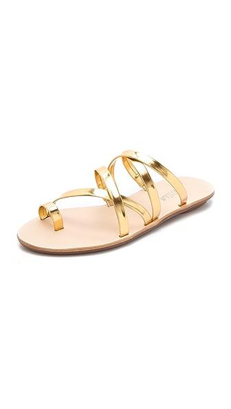 Loeffler Randall Sarie Metallic Sandals