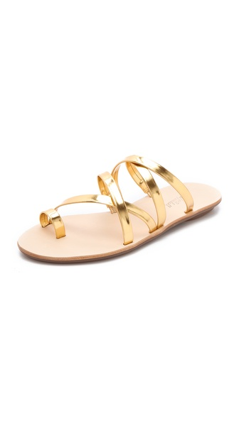 Loeffler Randall Sarie Metallic Sandals