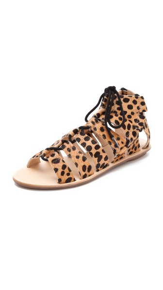 Loeffler Randall Skye Gladiator Haircalf Sandals