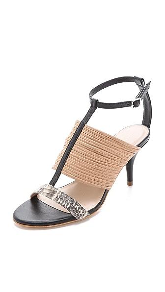 Loeffler Randall Robin T Strap Sandals