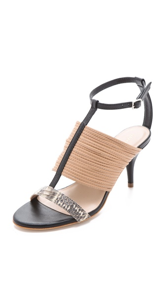 Loeffler Randall Robin T Strap Sandals