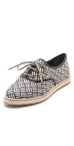 Loeffler Randall Odile Raffia Tennis Shoes at Shopbop / East Dane