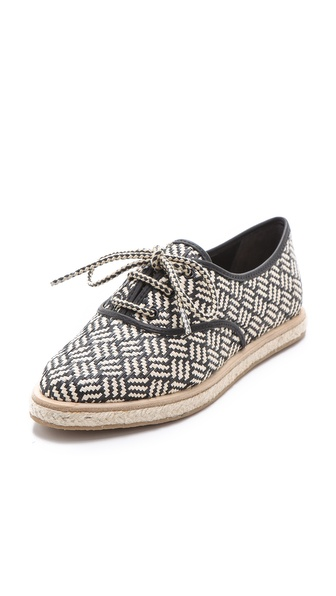 Loeffler Randall Odile Raffia Tennis Shoes