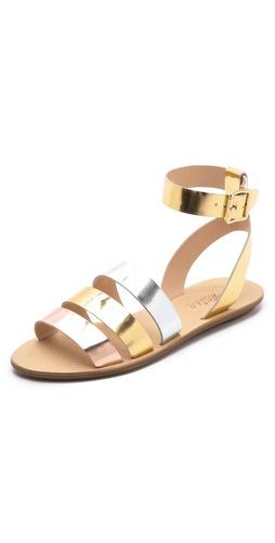 Loeffler Randall Simona Mirror Band Sandals