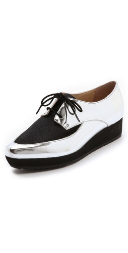 Loeffler Randall Calla Mirrored Platform Oxfords at Shopbop / East Dane