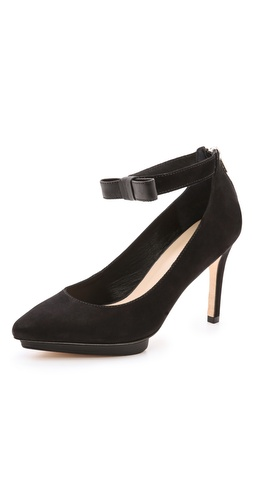 Loeffler Randall Alba Suede Platform Pumps at Shopbop / East Dane