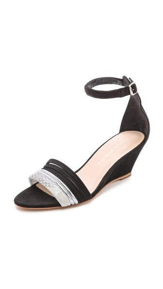 Loeffler Randall Addie Ankle Strap Wedges
