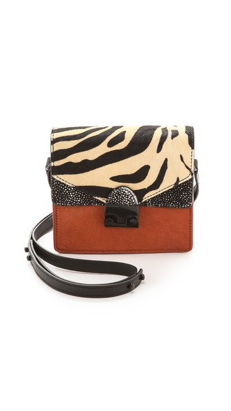Loeffler Randall Mini Haircalf Agenda Handbag