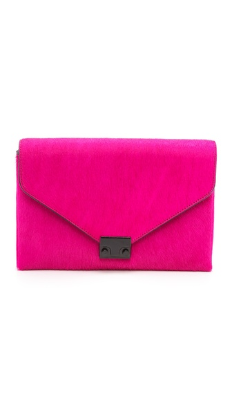 Loeffler Randall Lock Haircalf Clutch