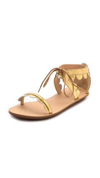 Loeffler Randall Marmy Scalloped Sandals