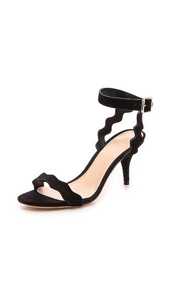 Loeffler Randall Loeffler Randall Reina Ankle Strap Sandals (Black)