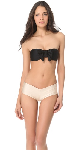 Shop Lolli Bow Bandeau Bikini Top and Lolli online - Apparel, Womens, Swim, Swim,  online Store