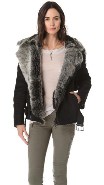 Lot78 Fashion Shearling Jacket