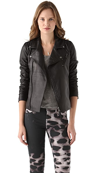 Lot78 Biker Leather Jacket