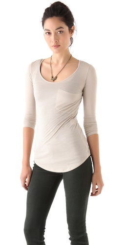Lot78 Long Sleeve Tee at Shopbop.com