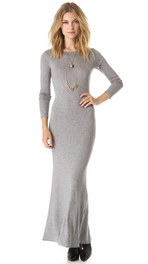 Lot78 Long Sleeve Maxi Dress