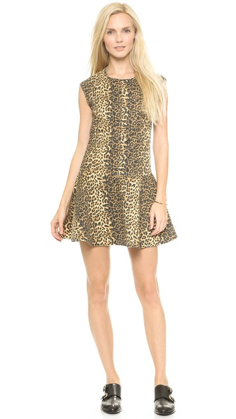 Loup Jane Dress - Leopard
