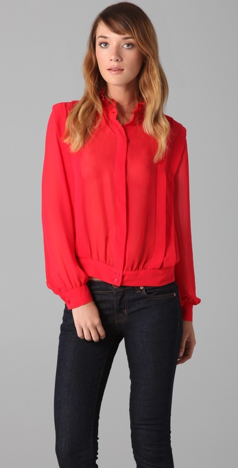 Lover Performance Blouse