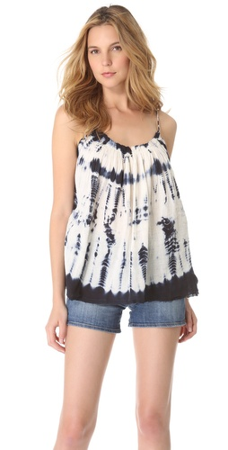 Kupi Love Sam Gathered Tie Dye Gauze Tank i Love Sam haljine online u Apparel, Womens, Tops, Tee,  prodavnici online