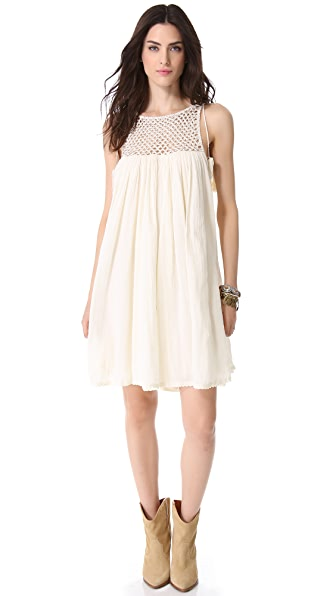 Love Sam Beaded Gauze Dress