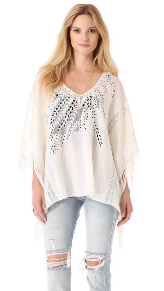 Love Sam Poncho Top