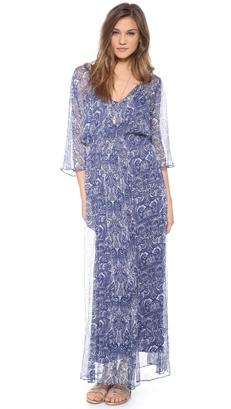 Love Sam Paisley Maxi Dress
