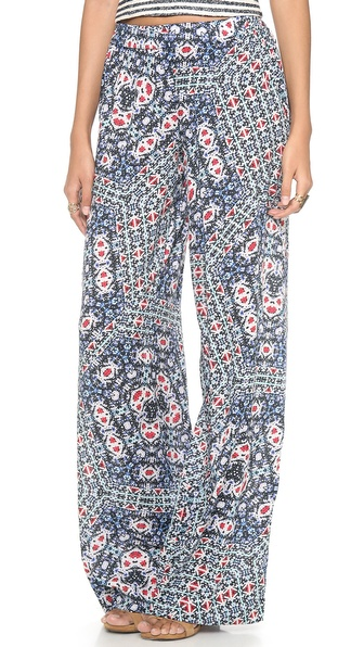 Love Sam Crossroads Wide Leg Pants