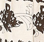 Black & Ivory Floral Print