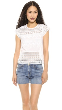 Love Sam Lace Tee