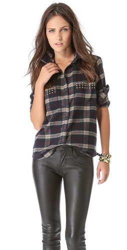 Lovers + Friends Boyfriend Blouse