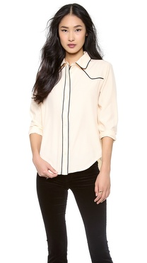 Lovers + Friends Busy Day Blouse