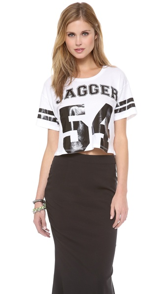 Lovers + Friends Cropped Tee