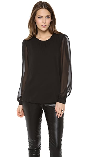 Lovers + Friends Monica Rose Mayfair Top