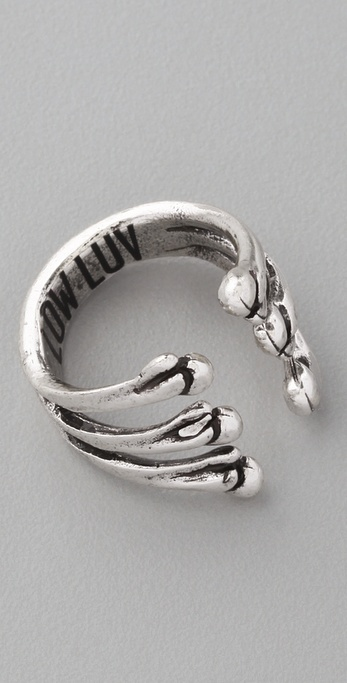 Low Luv x Erin Wasson Bone Cage Ring