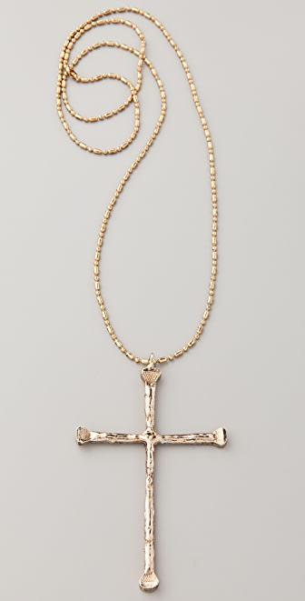 Low Luv x Erin Wasson Cross Pendant Necklace