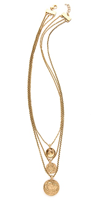 Low Luv x Erin Wasson Three Charms Necklace