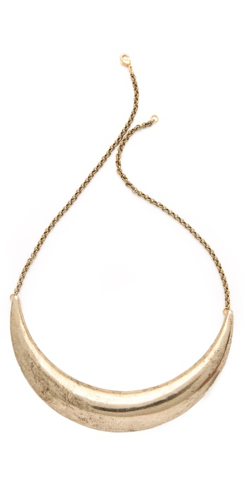 Low Luv x Erin Wasson Crescent Collar Necklace