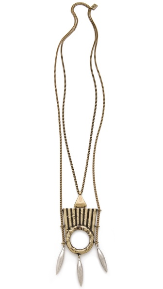 Low Luv x Erin Wasson Spinning Talisman Necklace