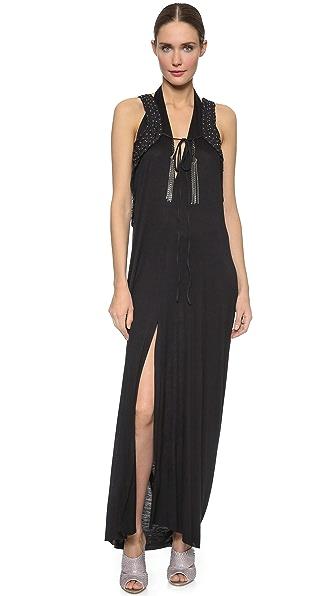 Kupi Loyd/Ford haljinu online i raspordaja za kupiti Loyd/Ford Harness Maxi Dress Black/Yellow online